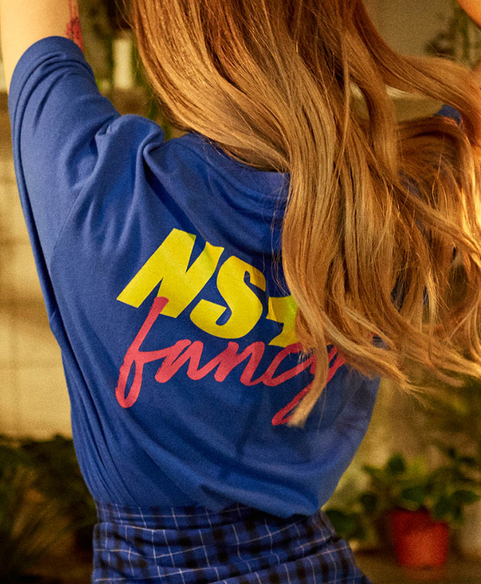 NASTY KICK(당일배송)네스티킥_[NSTK] NASTY FANCY TEE (BLUE)