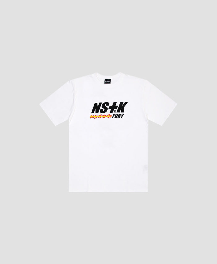 NASTY KICK(당일무료배송)네스티킥_[NSTK] LIKE FURY TEE (WHT)