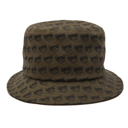 BRATSON브랫슨_ PANTHER  FULL PRINT BUCKETHAT(KHAKI)