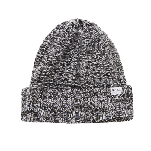 NATIONAL PUBLICITY내셔널 퍼블리시티_Knit Beanie_Charcoal