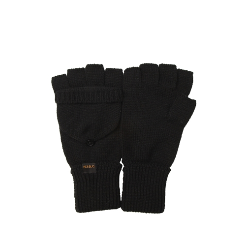 NATIONAL PUBLICITY내셔널 퍼블리시티_Hood Gloves_Black