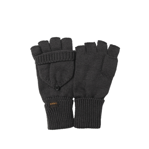 NATIONAL PUBLICITY내셔널 퍼블리시티_Hood Gloves_Grey