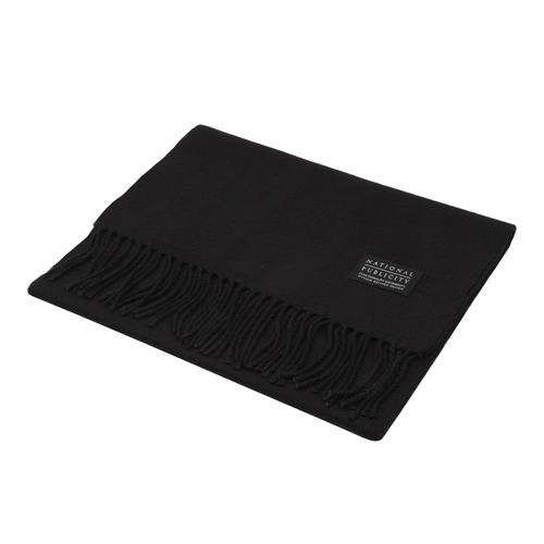 NATIONAL PUBLICITY내셔널 퍼블리시티_Solid Muffler_Black