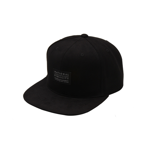 NATIONAL PUBLICITY내셔널 퍼블리시티_Solid Snapback_Black