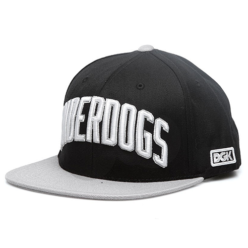 DGK디지케이_Underdogs Sanpback - Black/Grey