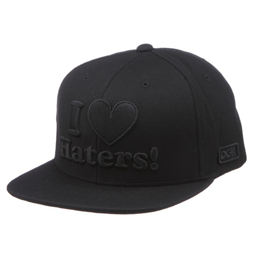DGK디지케이_Haters Snapback Cap - Black