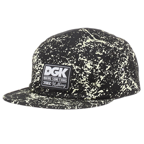 DGK디지케이_Making Something 5 Panel Cap - Black