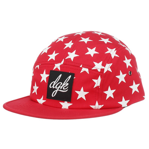 DGK디지케이_Shooter 5 Panel Cap - Red