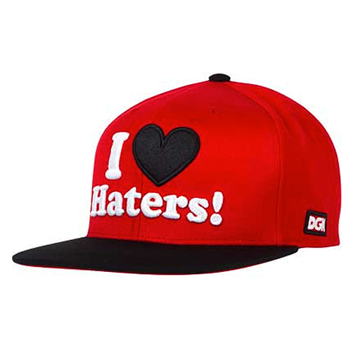 DGK디지케이_Haters Snapback Cap - Red/Black