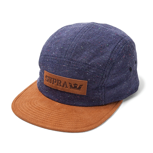 SUPRA수프라_Mark 5 Panel - Navy/Brown