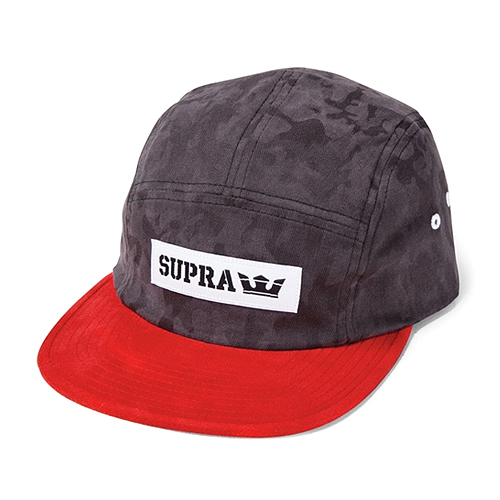 SUPRA수프라_Mark 5 Panel - Black/Red-White