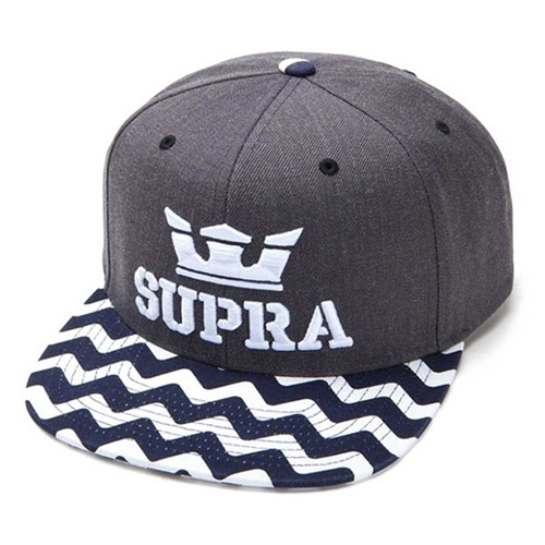 SUPRA수프라_Supra Above Starter - Charcoal Heather