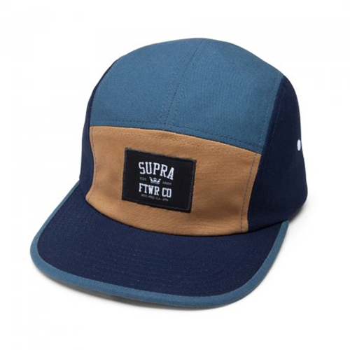 SUPRA수프라_Centerfield 5 Panel - Navy/Tan