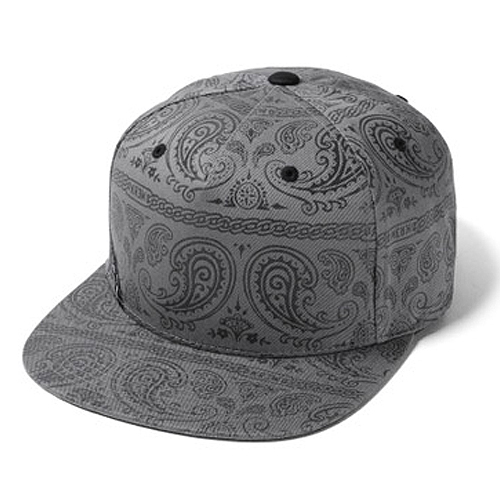 KR3W크루_ Loaded Snapback - Gunmetal