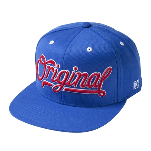 KR3W크루_Original 3 Snapback - Royal