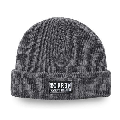 KR3W크루_Cuff Beanie - Grey/Heather