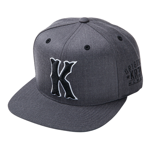KR3W크루_Occult Snapback - Charcoal Heather