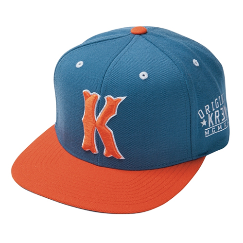 KR3W크루_Occult Snapback - Blue