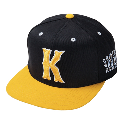 KR3W크루_Occult Snapback - Black/Yellow