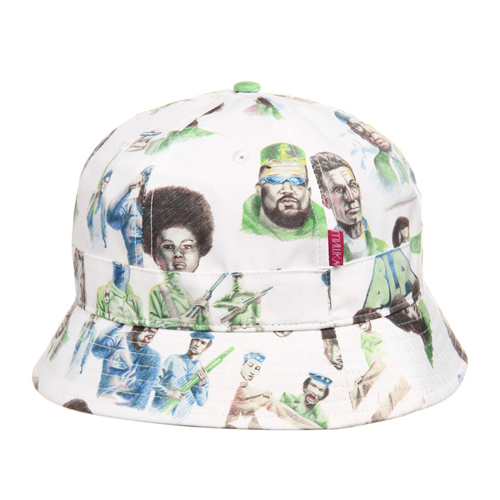 "MISHKA미쉬카_Mishka x SSUR*PLUS ""Radicals"" Tennis Bucket"