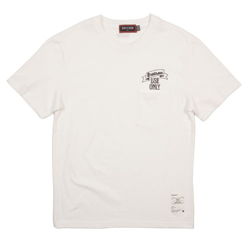 BRATSON브랫슨_USEONLY POCKET T-SHIRT(OFF WHITE)