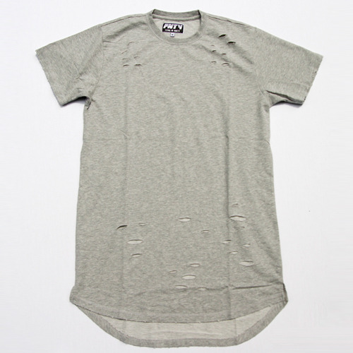 FNTY플라잉나인티_Distressed Long T-Shirt
