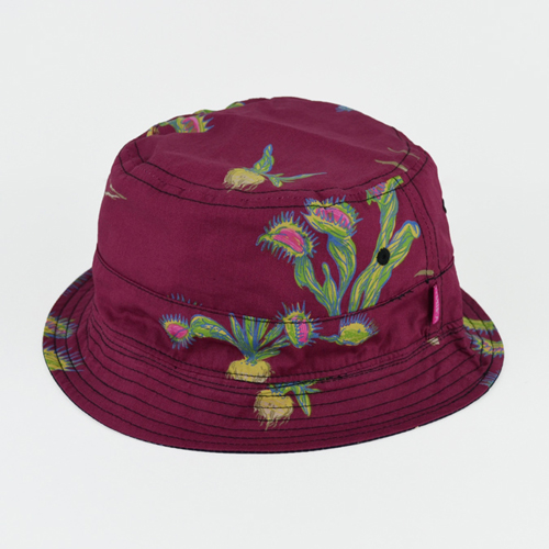 MISHKA미쉬카_Carnivore Reversible Bucket Hat(Navy/Burgundy)