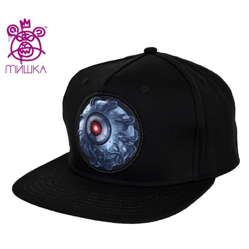 MISHKA미쉬카_Mecha Keep Watch Snapback(Black)
