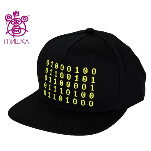 MISHKA미쉬카_Binary Death Snapback(Black)