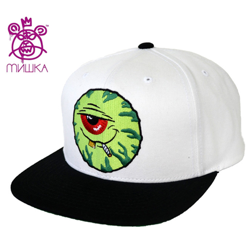 MISHKA미쉬카_Stoney Baloney Keep Watch Snapback(White)