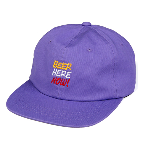 LEATA리타_Beer here now! trucker cap (purple)스트랩백&볼캡
