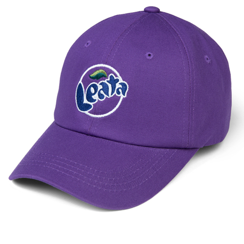 LEATA리타_Leata soda curve cap purple스트랩백&볼캡