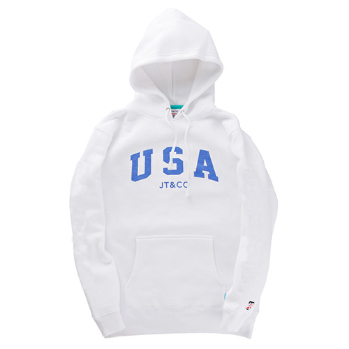JT&CO제이티앤코_USA PULLOVER HOODY (WHITE)
