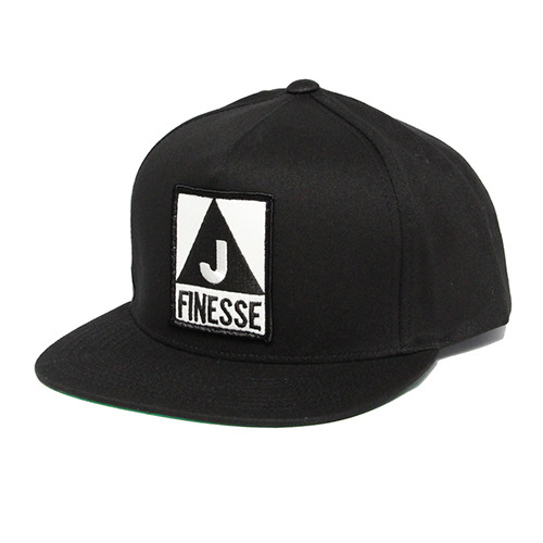JT&CO제이티앤코_FINESSE 5 PANEL SNAP BACK (BLACK)