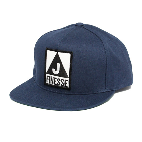 JT&CO제이티앤코_FINESSE 5 PANEL SNAP BACK (NAVY)