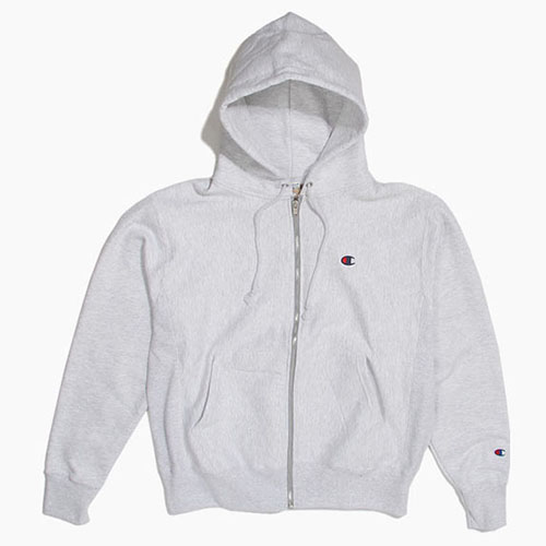 Champion USA챔피언_Revers Weave Full Zip Ash