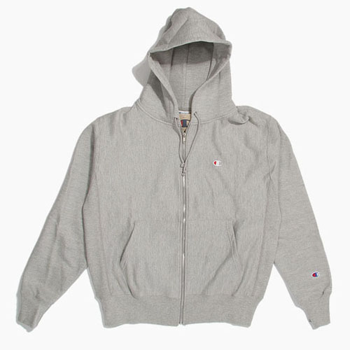 Champion USA챔피언_Revers Weave Full Zip Grey