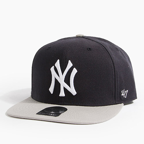 47 BRAND포티세븐_Sure Shot Snapback Yankees(Black/Grey)