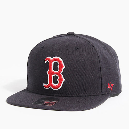 47 BRAND포티세븐_Sure Shot Snapback Red Sox(Navy/Red)