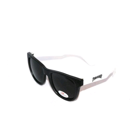 THRASHER트래셔_LOGO SUNGLASSES (WHITE)