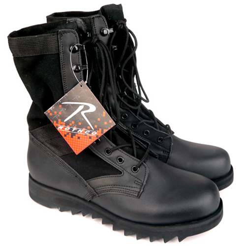 ROTHCO로스코_Black Ripple Sole Jungle Boots