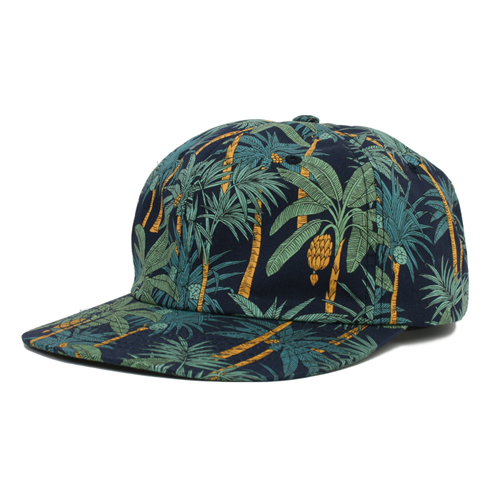 MONKIDS몬키즈_palm tree 6P cap navy