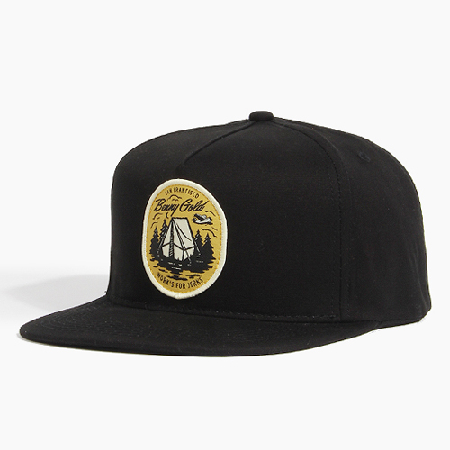 BENNY GOLD베니골드_Camping Strapback Black