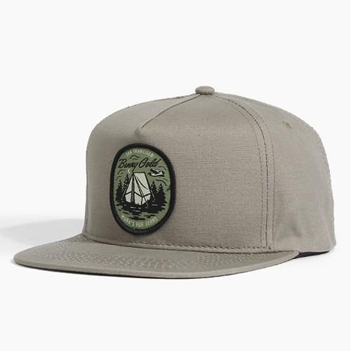 BENNY GOLD베니골드_Camping Strapback Grey