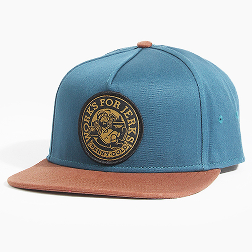 BENNY GOLD베니골드_Lumberjack Snapback Navy/Coffee