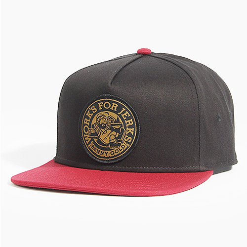 BENNY GOLD베니골드_Lumberjack Snapback Black/Red