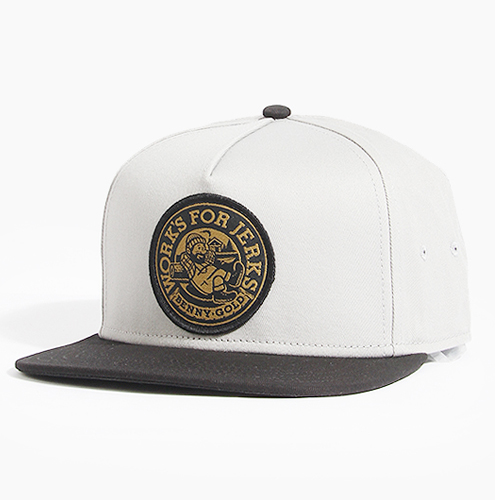 BENNY GOLD베니골드_Lumberjack Snapback Grey/Black