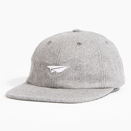 BENNY GOLD베니골드_Clssic Plane Wool 6panel Polo Grey