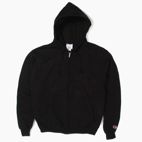Champion챔피언_CHAMPION50/50 Full-Zip Hoodie Black