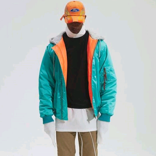 FNTY플라잉나인티_Luxe Hooded Jumper (Emerald)